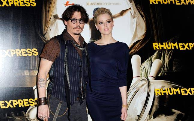 Johnny Depp and Amber Heard. Photo: Reuters