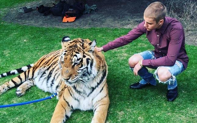 Picture courtesy: Instagram/@justinbieber