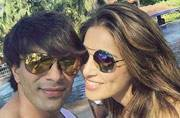 SEE PIC: It's a beachside honeymoon for Bipasha Basu and Karan Singh Grover