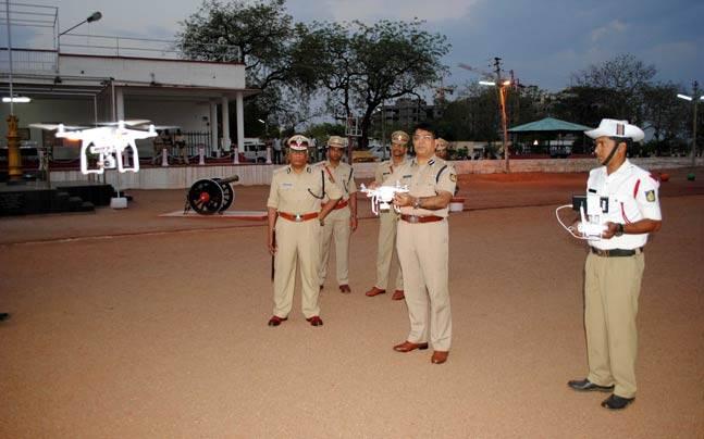 Karnataka Police gets tech-savvy, uses drone squad to check