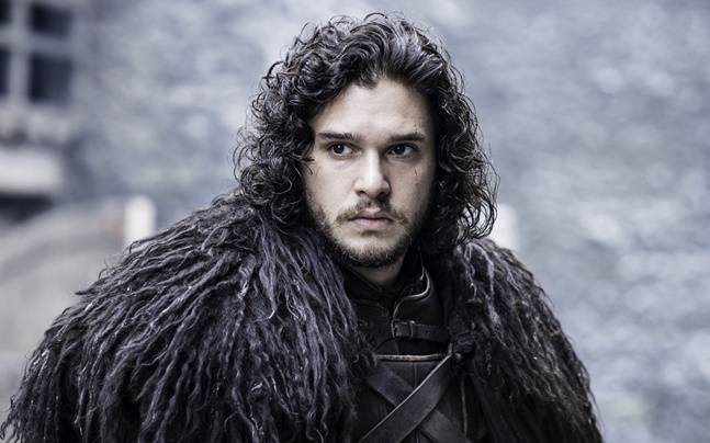 Kit Harington plays the role of Jon Snow in Game of Thrones