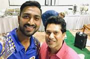 Sachin Tendulkar doesn't praise me very often, it's special when he does: Krunal Pandya