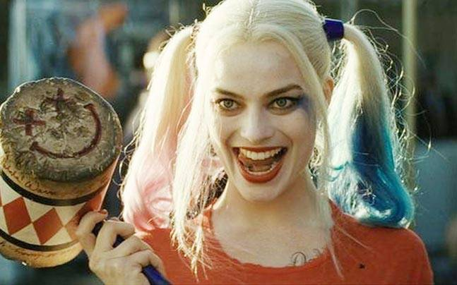 Margot Robbie in a still from Suicide Squad