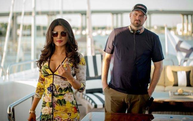 Priyanka Chopra and Seth Gordon