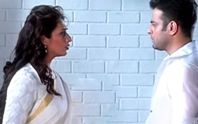 Raman and Ishita in a still from the new promo