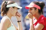 Sania-Hingis miss out on 'Santina Slam', crash out of French Open