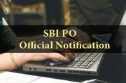 SBI PO 2016: Official notification out