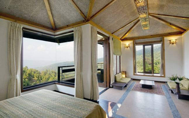 Sitla Estate ensures that its guests wake up to the most stunning views of the Kumaon mountains. Picture courtesy: Sitla Estate