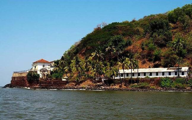 Aguada Central Jail in Sinquerim overlooking the Arabian Sea. Picture courtesy: Facebook/Target Goa