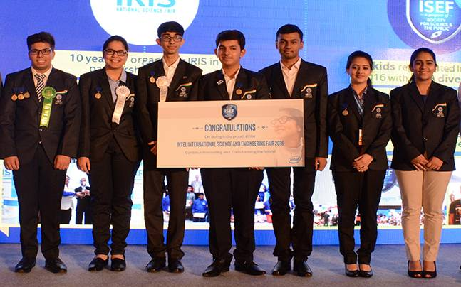 Team India who participated at ISEF in USA