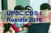 UPSC CDS I Exam 2016: Check out results