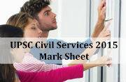 UPSC Civil Services 2015: Important information about mark sheet