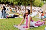 The AYUSH Ministry has asked business chambers and other corporate bodies to make a 30-minute yoga break mandatory for their employees.