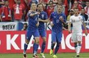 Ivan Perisic on a high after Croatia stun Spain