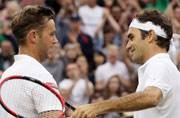 Loss aside, tennis teacher revels in chance to face Roger Federer