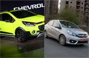 Chevrolet Beat Activ coming to India, Honda Amaze breaches 2 lakh sales mark in three years and more