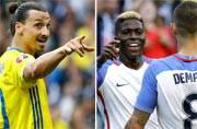 Sports Wrap: Zlatan up for Italian Job, United States make history at Copa America
