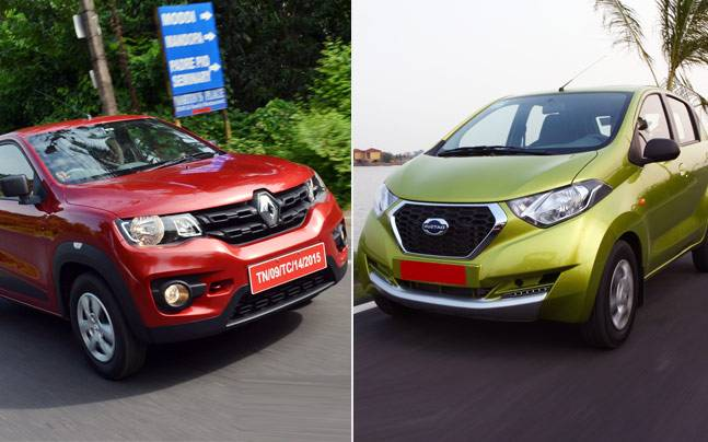 Kwid Vs Redi Go Soul Sisters From Different Mothers Auto News