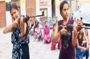 Aligarh: Radical right-wing group trains women to raise arms against love-jihad