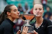 French Open: Garcia-Mladenovic clinch women's doubles title