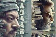 Did Irrfan just accuse Kabali filmmakers of stealing the poster of Madaari?