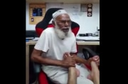 Chacha got talent: Jolly old man singing 1950s classic 'Sugartime' will make your day