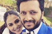 Riteish Deshmukh and Genelia D'Souza have revealed their second son's name on Twitter