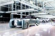 Rolls-Royce showcase Vision Next 100 Years Concept