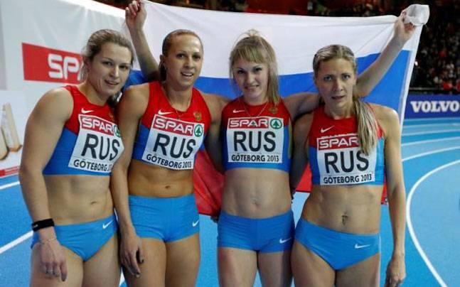 Resultado de imagen para russia athletics