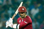 Tri-series: Marlon Samuels guides West Indies to four-wicket win over Australia