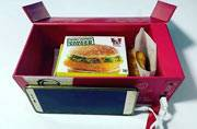 This KFC meal box will recharge your body and your phone