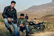 These three Indians want to ride across the border to Pakistan. Why?