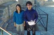 Watch: This couple is honeymooning the world with a drone!
