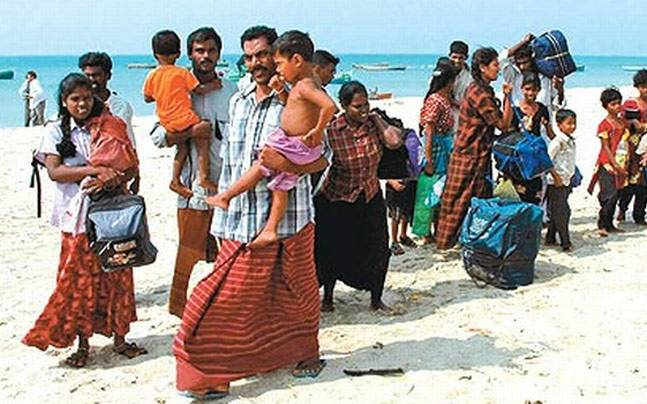 Image result for Images of refugees in India