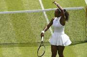 Serena Williams, Nick Kyrgios enter round two at Wimbledon