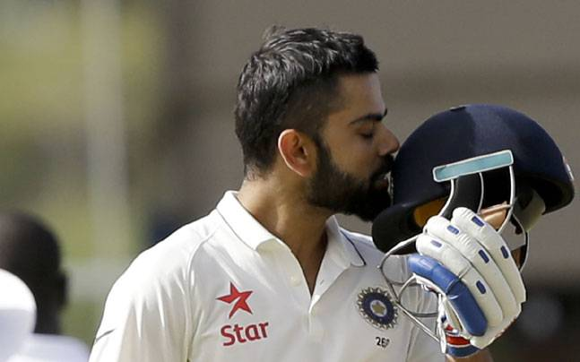 Virat Kohli's scored his first double-century in Tests in West Indies in 2016 | Image Source: AP