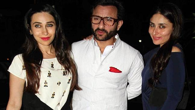 Image result for saif kareena karishma pic