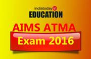 AIMS ATMA Exam 2016 tomorrow, check out the important instructions now