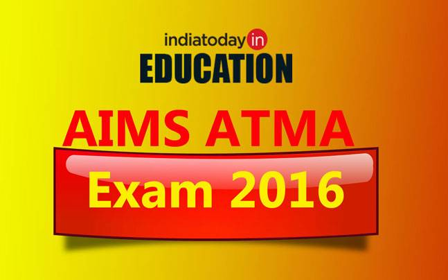 AIMS ATMA Exam 2016 : Important Instructions