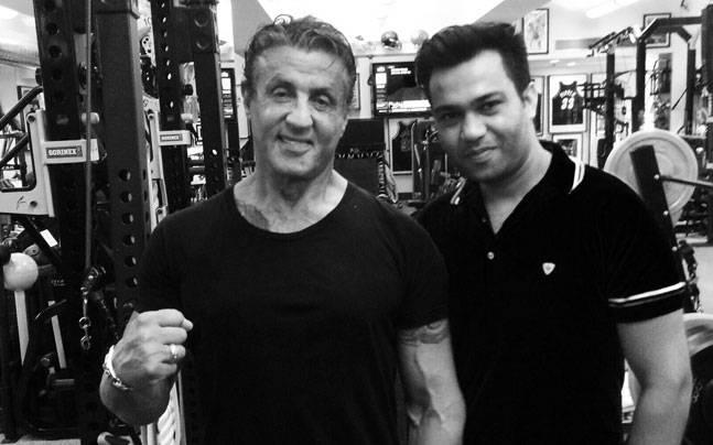 Sylvester Stallone and Ali Abbas Zafar