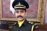BCCI chief Anurag Thakur joins Territorial Army as Lieutenant, enters Parliament in army fatigues