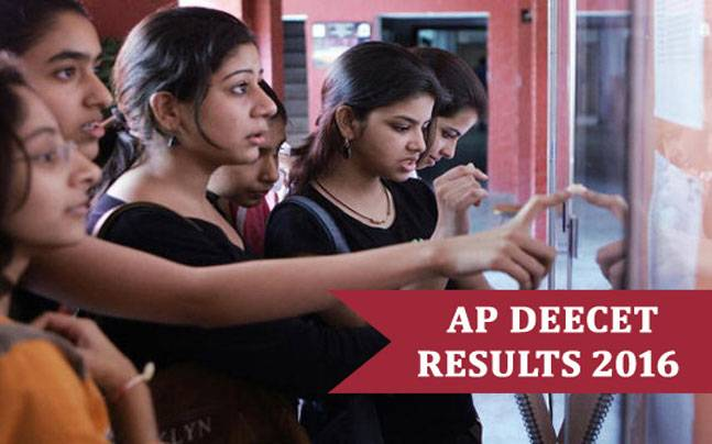 AP DEECET Results 2016 declared