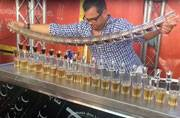 Watch: This bartender pours 17 jagerbombs at once; sets new record