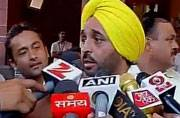 MPs slam AAP leader Bhagwant Mann for posting Parliament video on social media