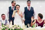 Watch: This bride rapped Ice Ice Baby on her wedding day, and it's plain EPIC
