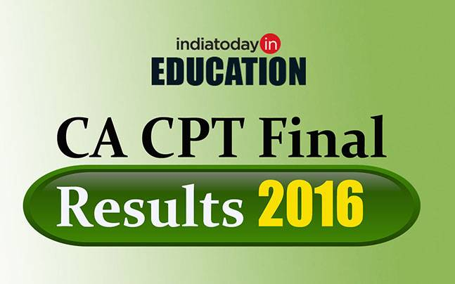 CA CPT Final Results 2016