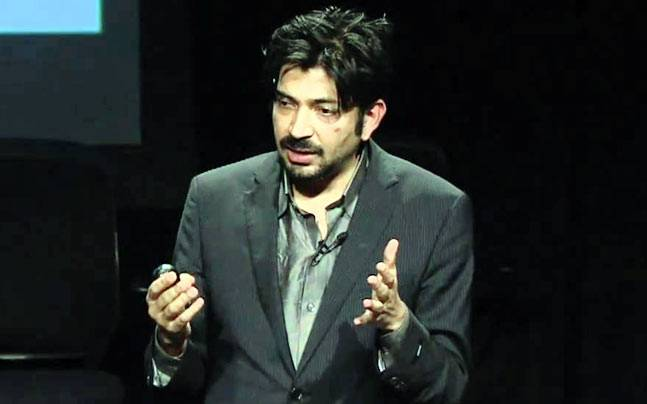 Dr Siddhartha Mukherjee. Picture courtesy: YouTube/poptech