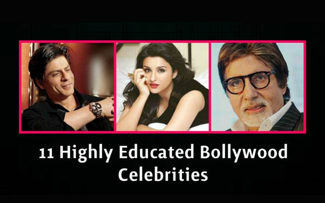 10 highly educated bollywood celebrities