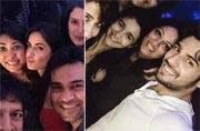 Inside Pics: Lovebirds Sidharth and Alia attend Katrina Kaif's birthday party