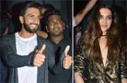 Ranveer-Deepika-Ranbir might party together...but look who's going home with the girl!